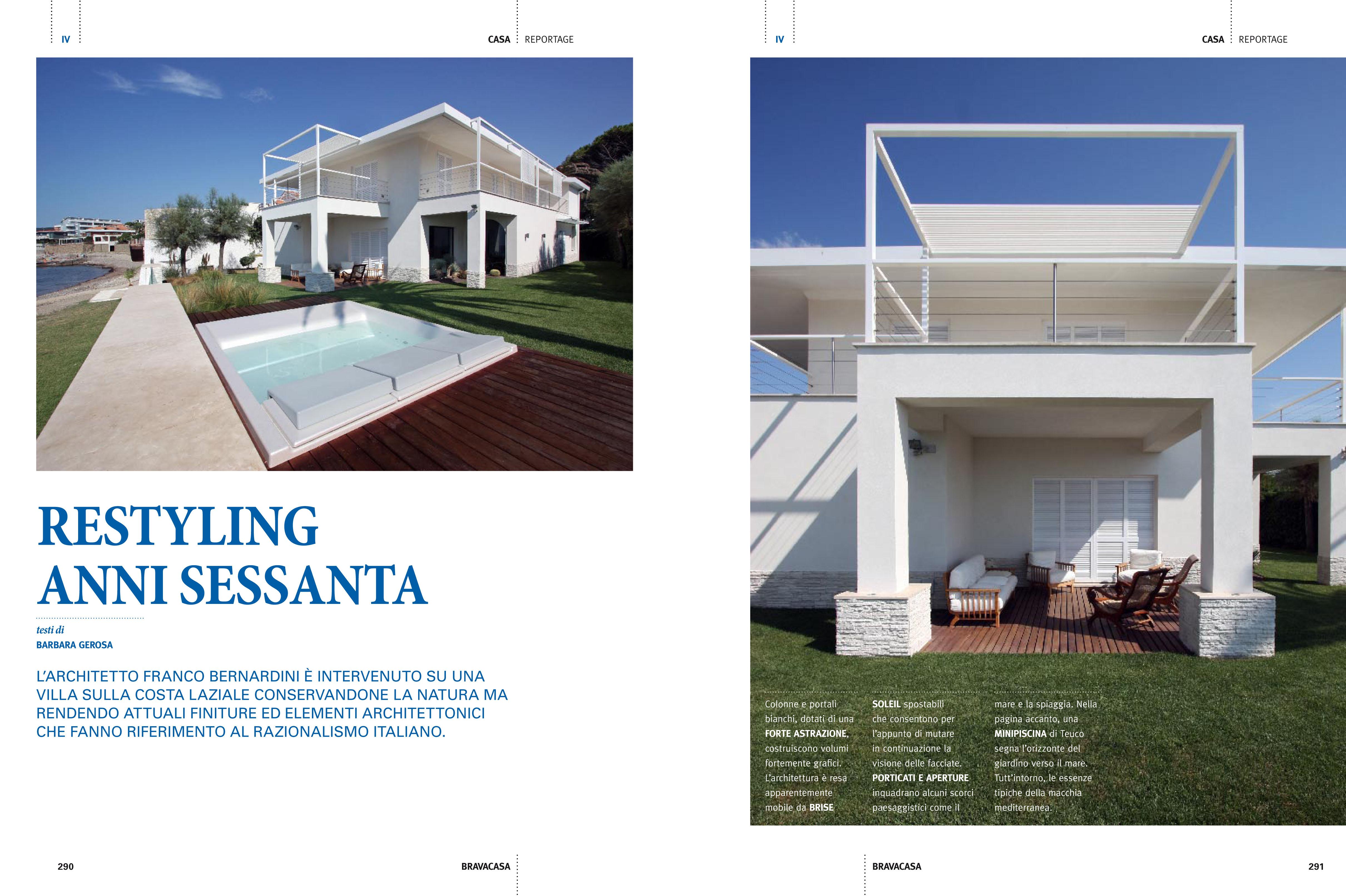 Villa unifamiliare sulla costa laziale roma 2008 09 for Schizzo di piani di casa gratuiti