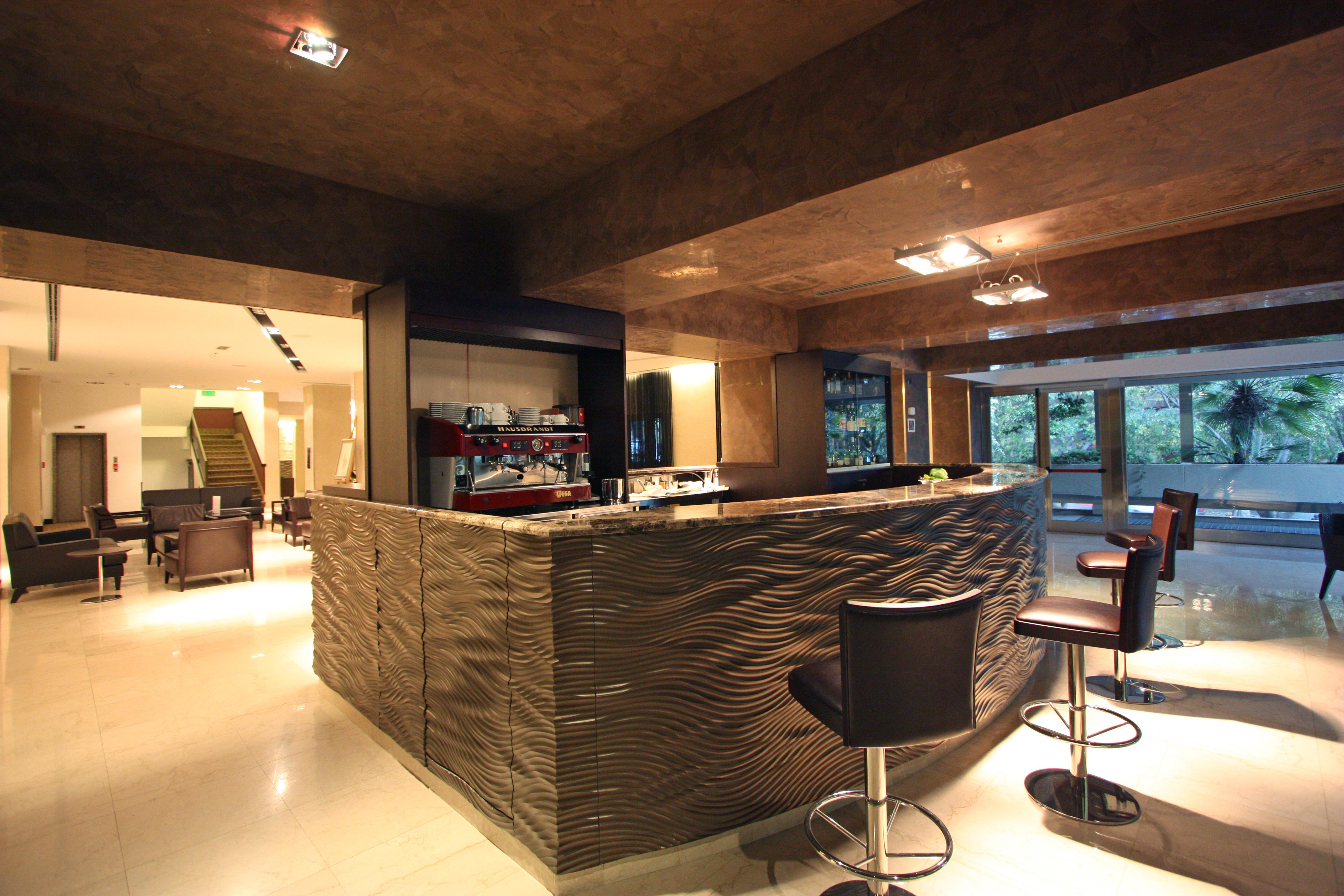 degli interni e arredamento dell'Hotel Regina Margherita di ...