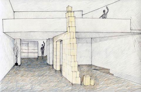 Show room agu via dei banchi vecchi 109 roma 1990 - Architetto roma interni ...