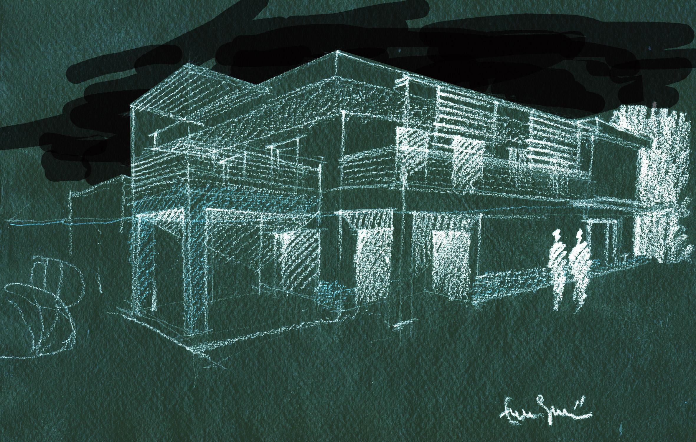 Villa unifamiliare sulla costa laziale roma 2008 09 for Progetti architettura on line