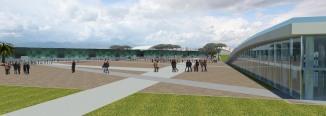 piazza vista dal centro servizi