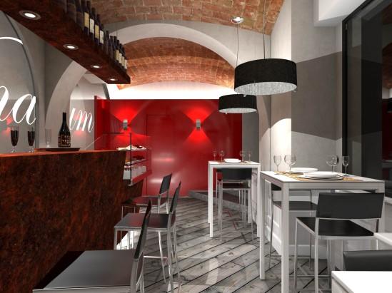 Arredamento enoteche franco bernardini architetto for Arredamento ristorante italia