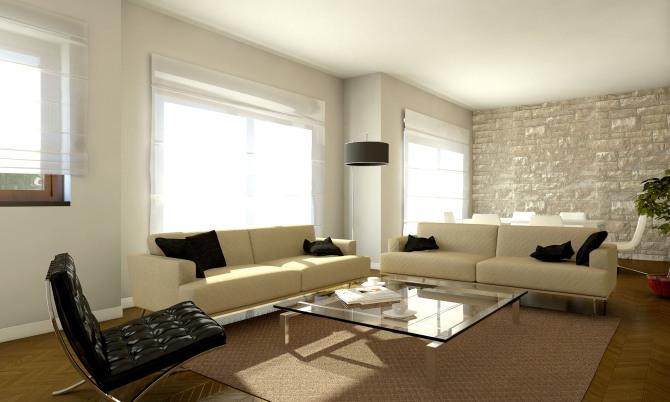 Appartamento in via dei due ponti a roma franco for Appartamenti di design