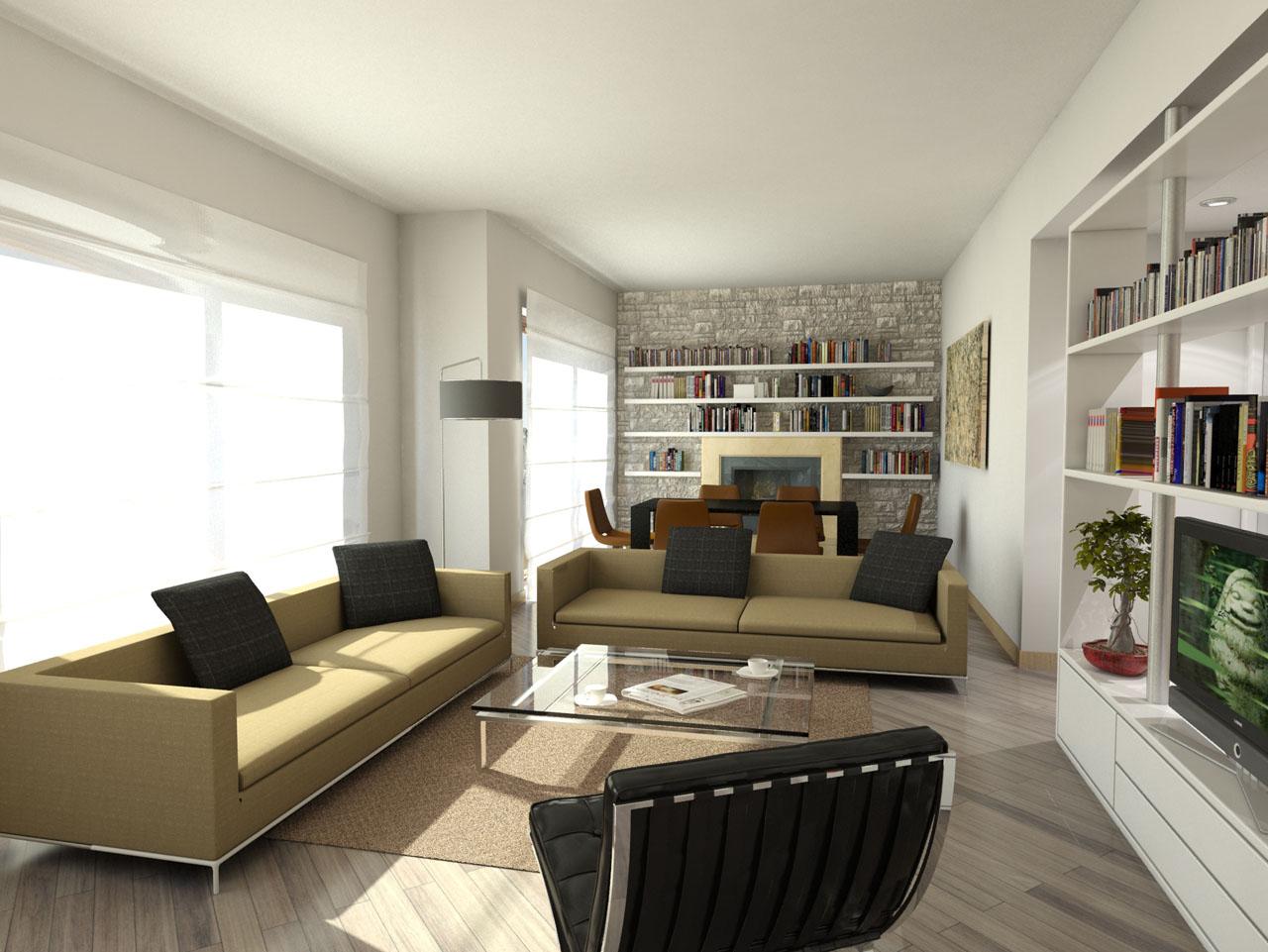 progetto appartamento | Franco Bernardini architetto