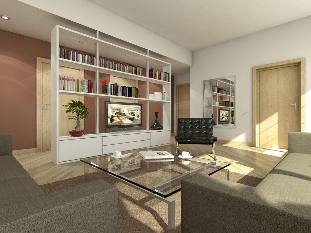 Aprile 2010 franco bernardini architetto - Separazione cucina soggiorno ...