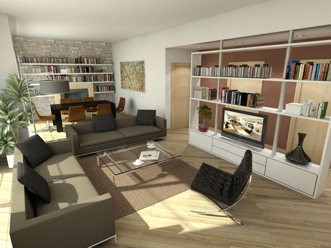 Emejing Progetto Soggiorno Images - House Design Ideas 2018 - gunsho.us