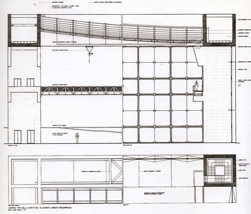 Studio di progettazione a roma franco bernardini for Suite prefabbricata