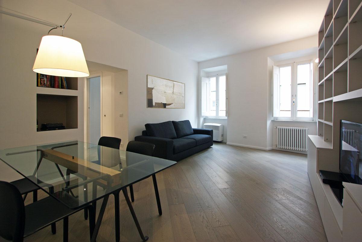 Appartamento in via giulia a roma franco bernardini for Architetto di interni roma