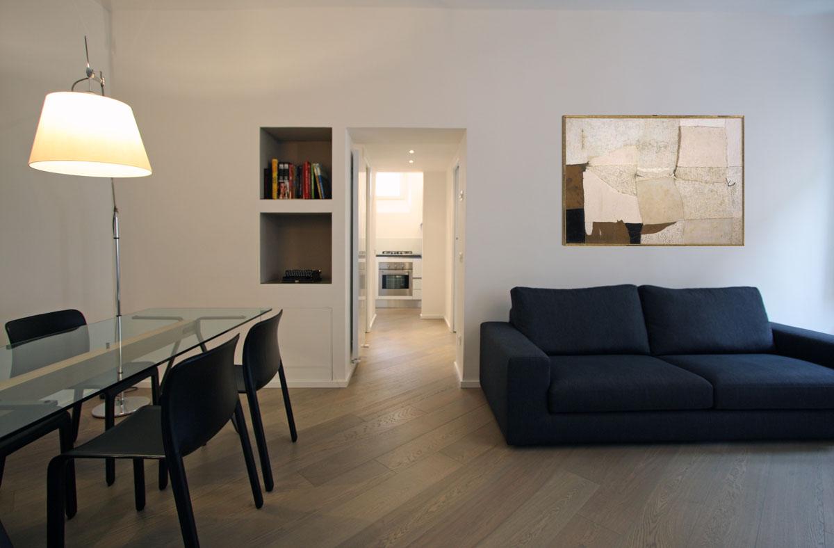 Appartamento in via giulia a roma franco bernardini for Ristrutturazioni case moderne