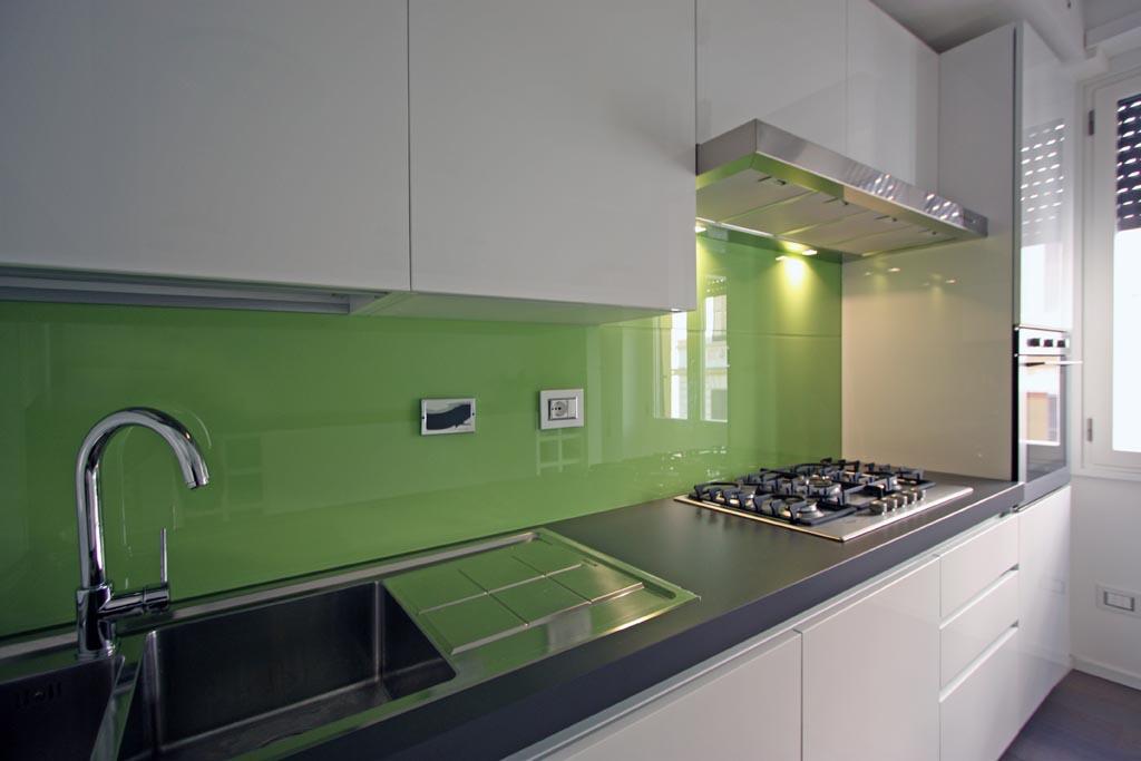 Stunning parete cucina verde acido pictures design - Cucina verde acido ...