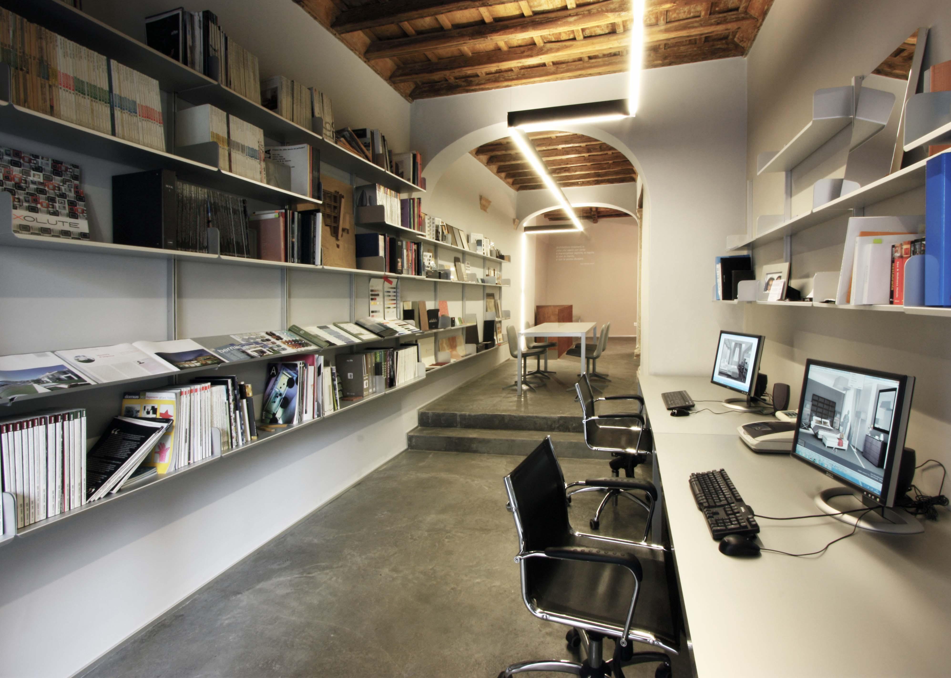 Studio di via di panico 8 franco bernardini architetto - Architetto interni roma ...