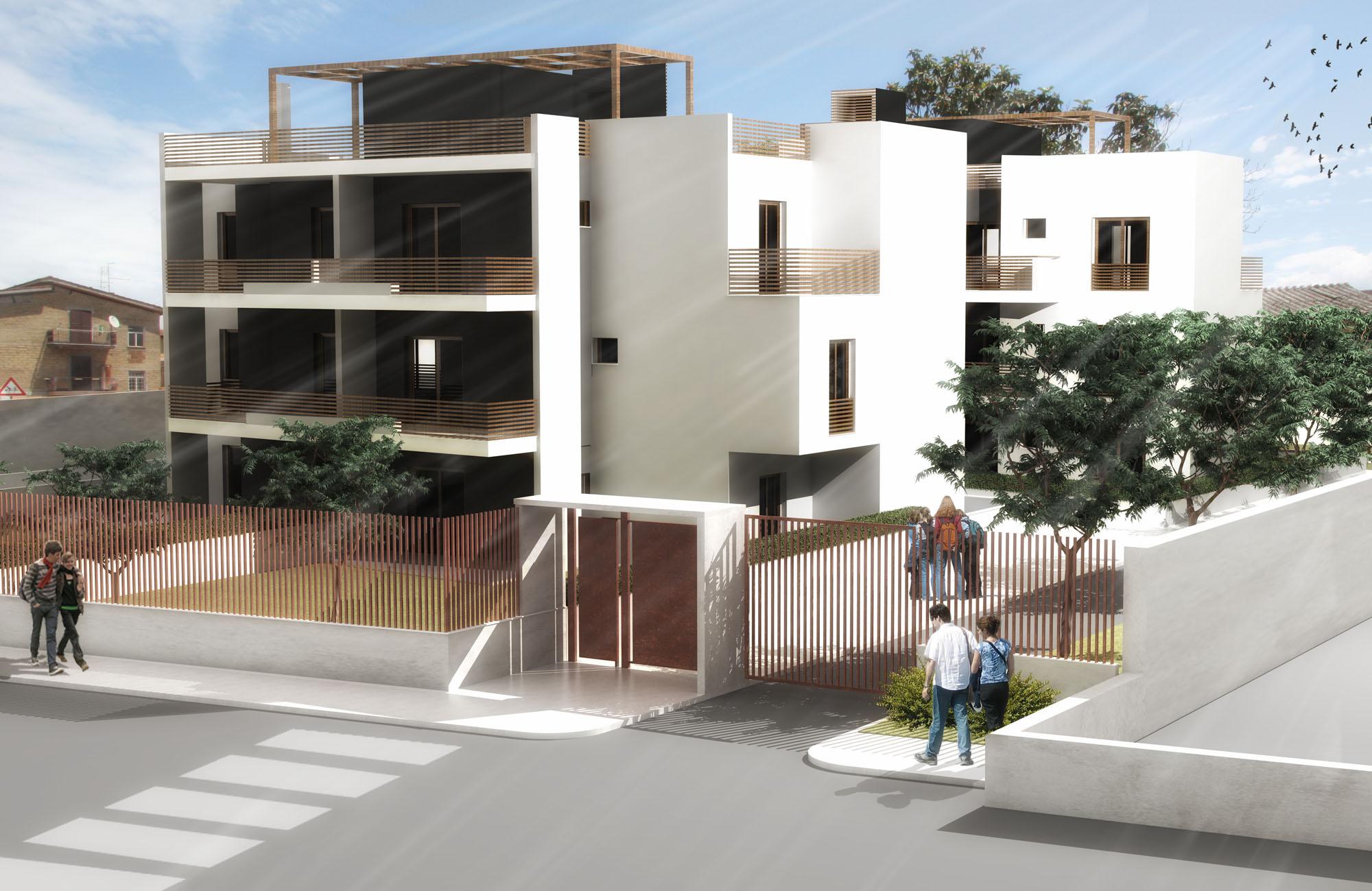 Studio di architettura franco bernardini architetto for Architettura residenziale contemporanea