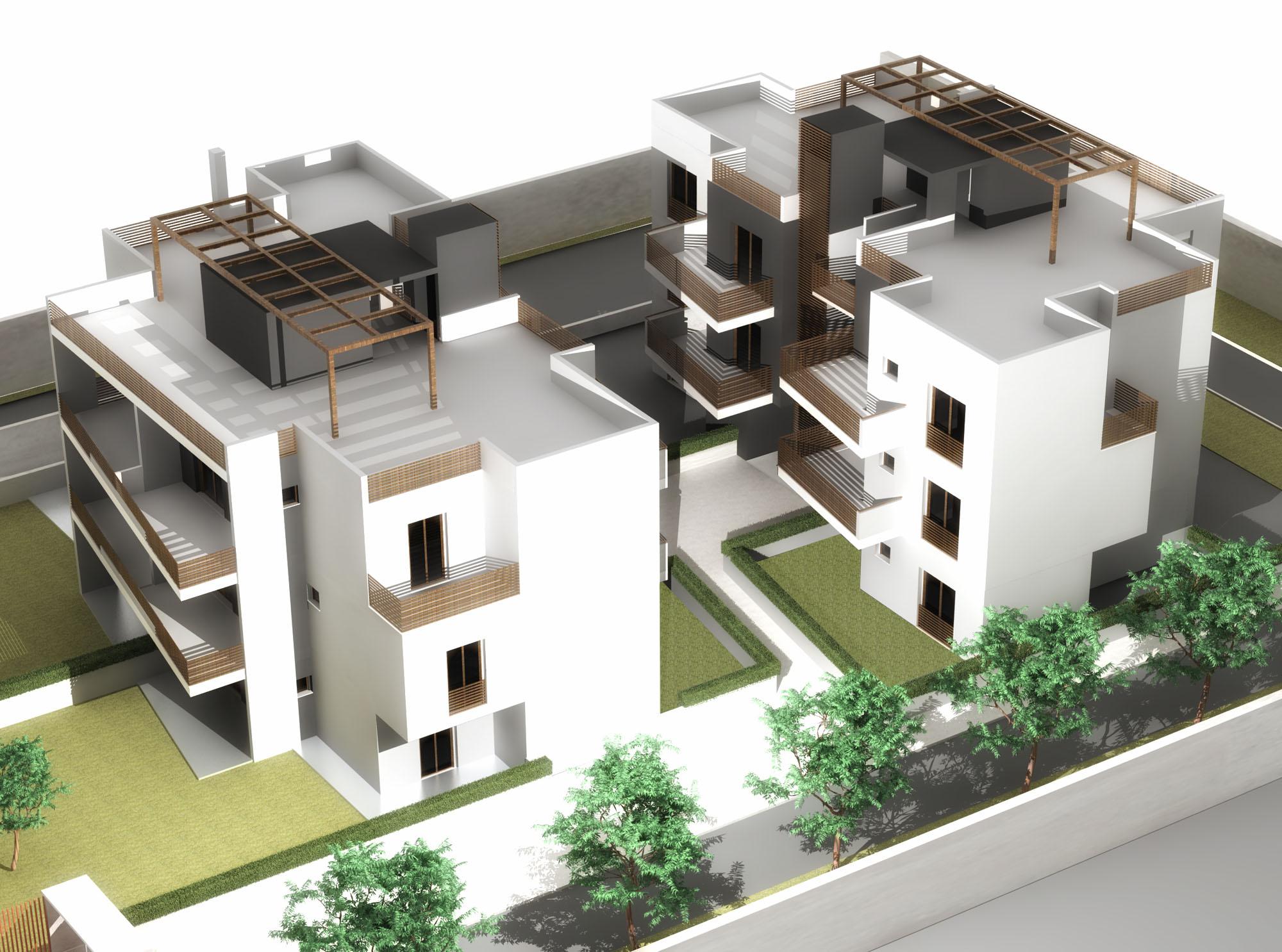 Giugno 2013 franco bernardini architetto for Palazzine moderne