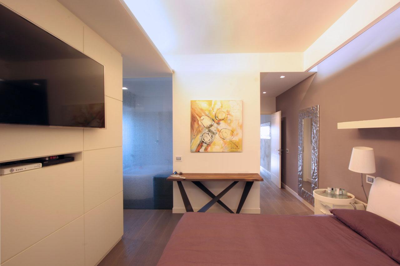 Casa c nel quartiere di monte mario a roma franco for Appartamenti moderni immagini