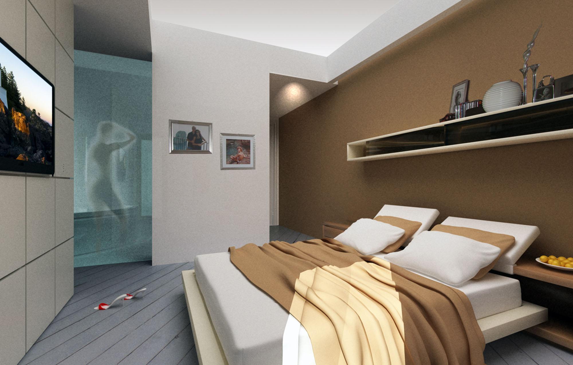 Settembre 2013 franco bernardini architetto - Camera da letto in cartongesso ...