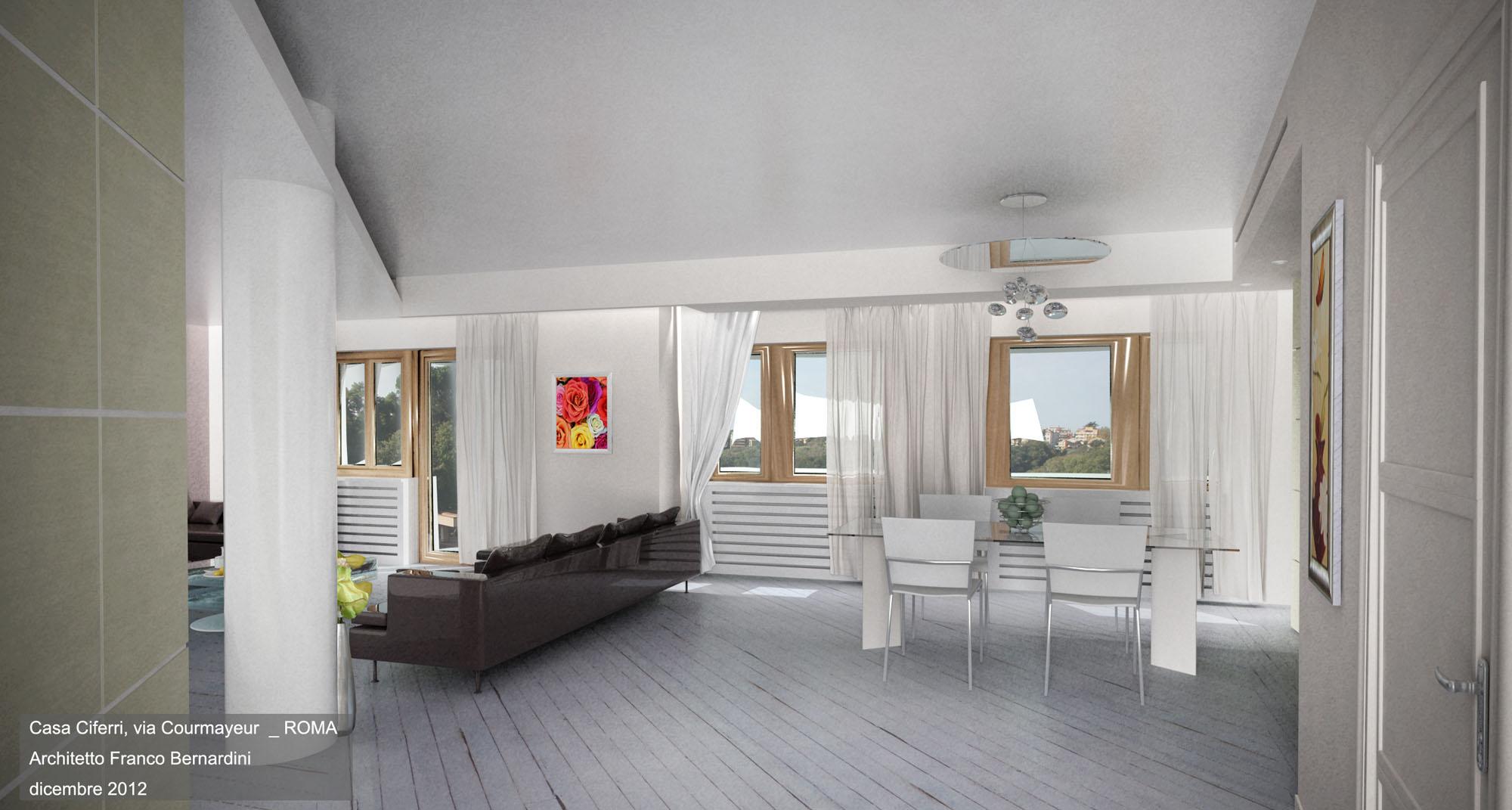 Appartamenti franco bernardini architetto for Interior design appartamenti