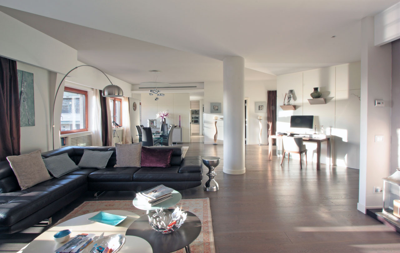 Casa c nel quartiere di monte mario a roma franco - Architetto roma interni ...