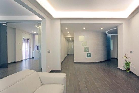 Casa b in via mascagni a roma franco bernardini architetto - Architetto interni roma ...