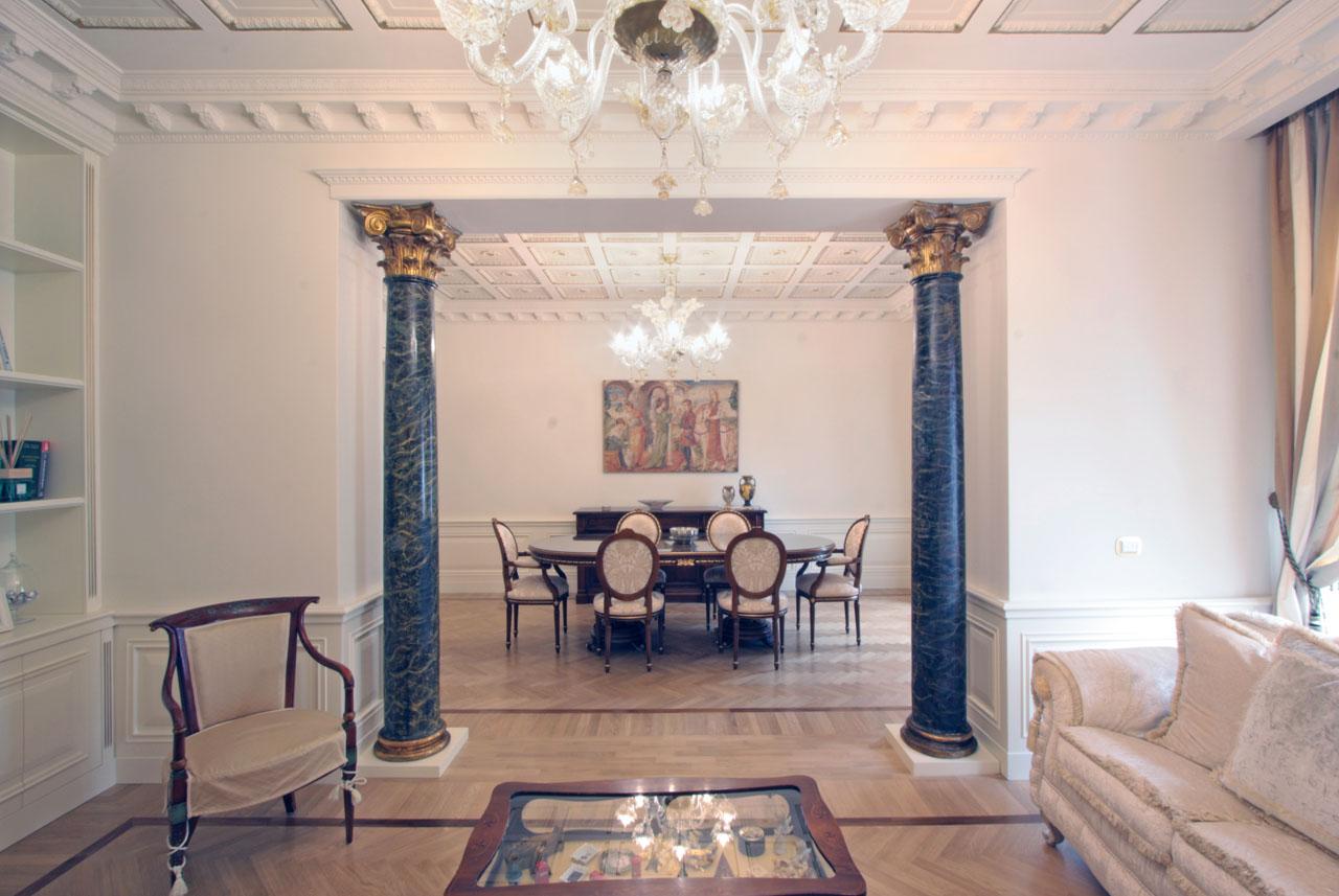 Interior design franco bernardini architetto for Interni case americane