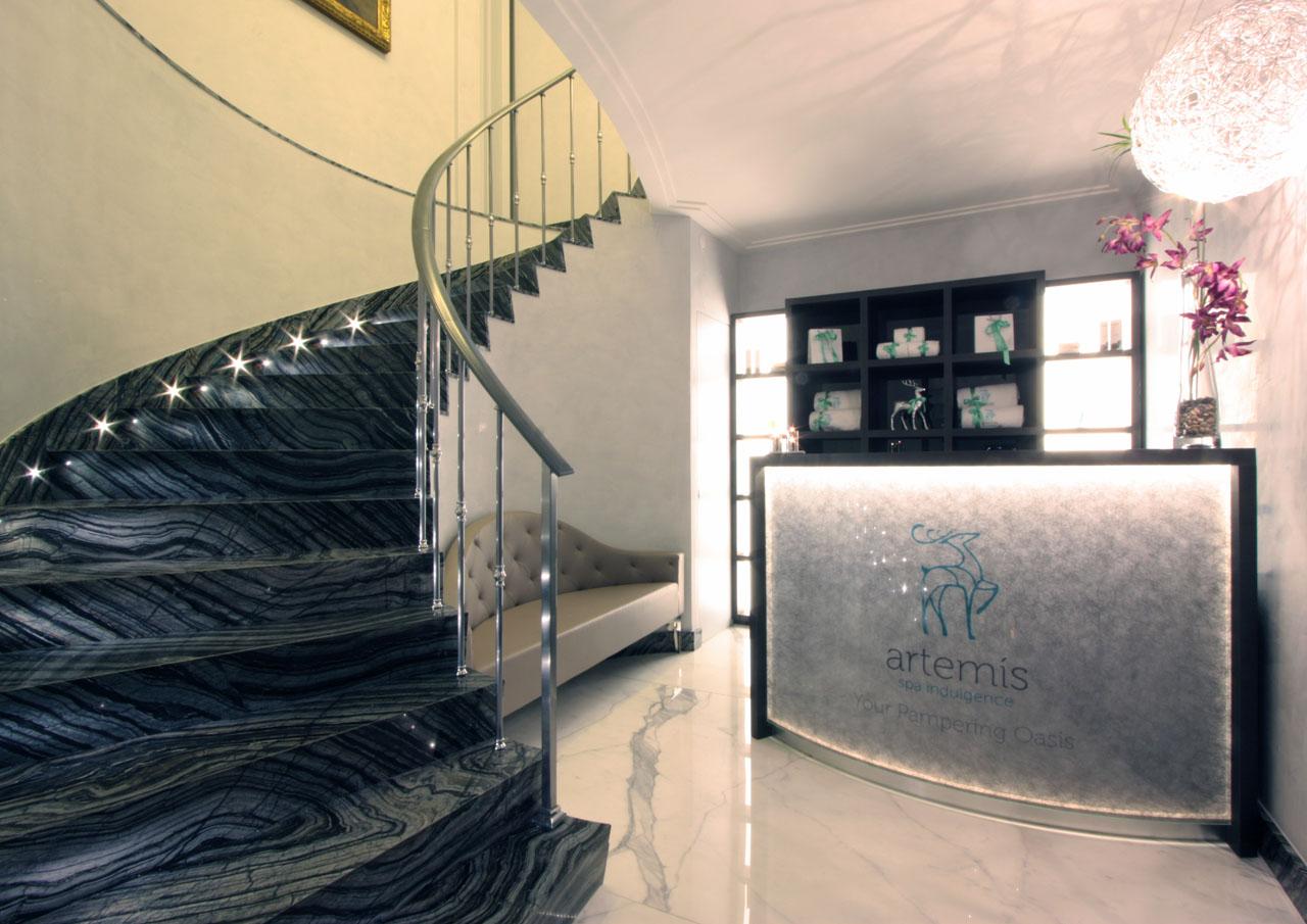 Allestimento zona fitness e wellness dellhotel artemide**** roma